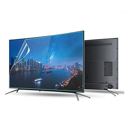 ASPZQ Protector de Pantalla Anti Luz Azul para TV,para LCD/LED/OLED/QLED / 4K / HDTV, Reducir La Radiación, Proteger Los Ojos, 18 Tamaños (Color : HD Version, Size : 52 Inch 1161 * 661mm)