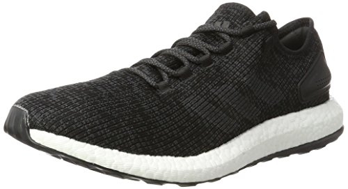 adidas Men's Pure Boost Running Shoes, Black (Core Black/DGH Solid Grey/core Black), 7 UK