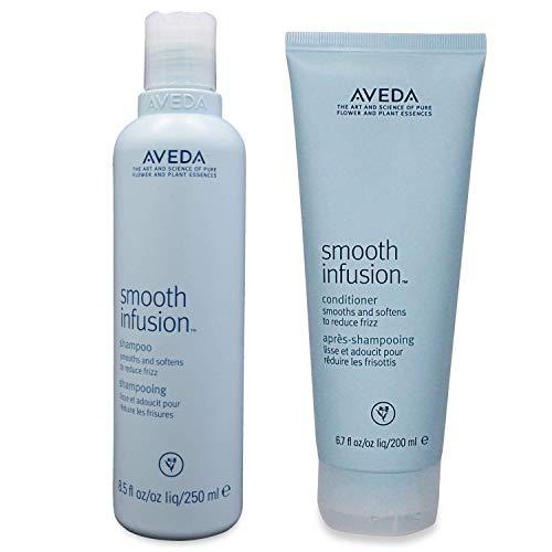 Aveda Smooth Infusion Shampoo 8.5 oz and Conditioner 6.7 oz Duo