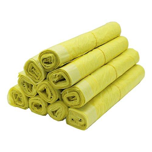 VARIOSAN sac jaune 11480, 130 pièces, 10 rouleaux, 90 L, 15 µ
