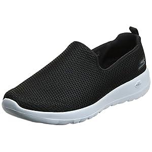 Skechers womens Go Joy Walking Shoe, Navy/White, 9 US
