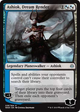 Magic: The Gathering - Ashiok, Dream Render - Foil - War of The Spark