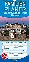 Zeit fuer Erholung - Insel Usedom / Geburtstagskalender - Familienplaner hoch (Wandkalender 2022 , 21 cm x 45 cm, hoch): Insel Usedom - Die Sonneninsel in der Ostsee (Monatskalender, 14 Seiten )