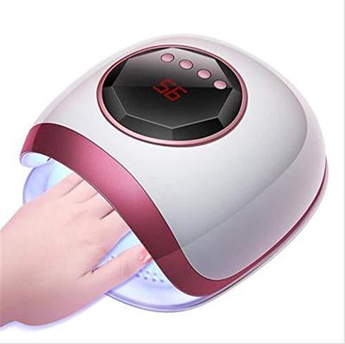 LLDKA Nageldroger lamp voor nagels UV nagel lamp 60W lamp nagels, 30/60 / 99s timer en verwijderbare magnetische
