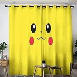 Elliot Dorothy Pikachu pokemon TV Cartoon tenda Passacavi oscuranti per camera dei ragazzi ragazze W42 x L45