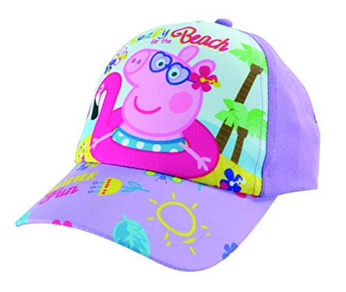 "Peppa Wutz Pig Kinder-Cap Mütze Kappe Hut ""Summer Fun"", größenverstellbar"