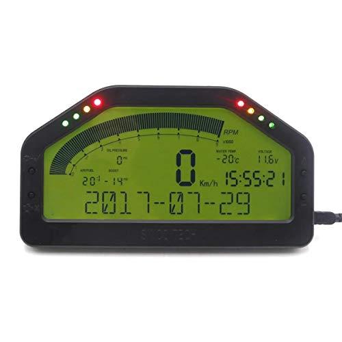LCD digital tacómetro Velocímetro cuentakilómetros Con la función de Bluetooth LCD Dash...