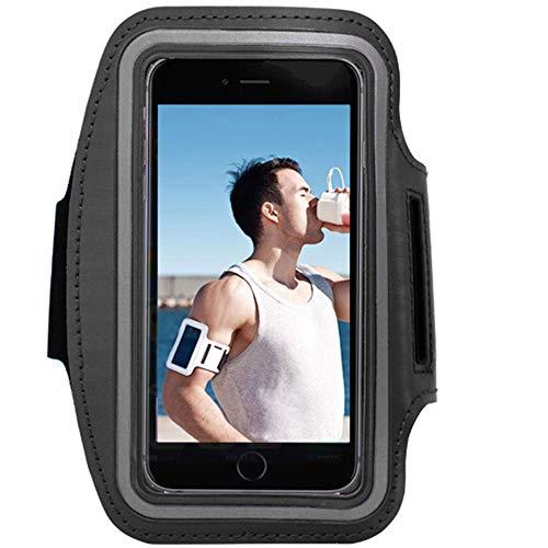 Funda Brazalete Deportivo Ajustable para Smartphone hasta 5.8' - Sport Armband Reflectivo, Prueba de Sudor para Apple iPhone/Huawei/Samsung/Xiaomi/Moto/Sony etc