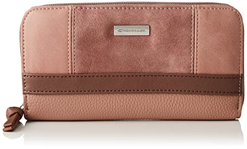 TOM TAILOR bags JUNA Damen Geldbörse one size, rose, 20x2,5x10,5