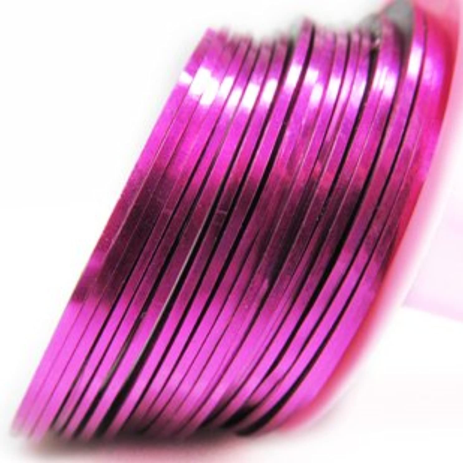 書誌殺人者決めます【ラインストーン77】 ラインテープ 1mm ピンク色