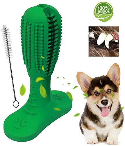 Alittle Cepillo de Dientes para Perros Stick Puppy Chew Tooth Toy Cuidado Dental Efectivo Cepillado Stick No tóxico Goma Natural Resistente a la mordedura Juguetes de Limpieza para Perros Mascotas