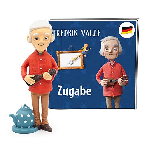 tonies Hörfigur für Toniebox, Fredrik Vahle – Zugabe, 16 beliebte Kinderlieder neu interpretiert, für Kinder ab 3 Jahren, Spielzeit ca. 56 Minuten