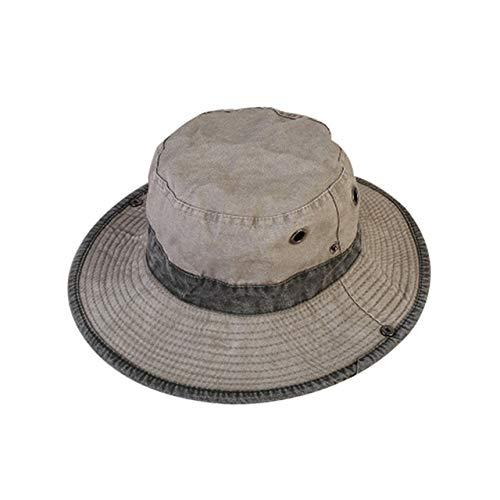 XIAMAZ Unisex anti-uv pet grote zonnebrandcrème vizier hoed strand visser hoed zomer