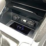 LYBH 15W Charge Rapide Qi Voiture Chargeur sans Fil Chargeur De Téléphone Plaque De Charge Support...