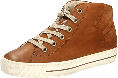 Paul Green 4735 Damen Sneakers Cognac, EU 38,5