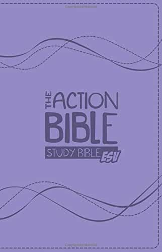 The Action Bible Study Bible ESV: English Standard Version; Premium Girl's Edition