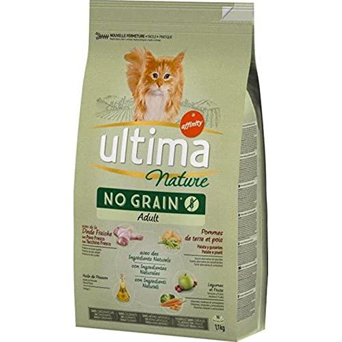 ultima Nature Croquettes Chat No Grain Adult Dinde 1,1Kg (Lot de 3)