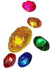 Infinity Gems Magnet Infinity Stones LED Abnehmbarer Magnet Infinity Stones- 3 Flash