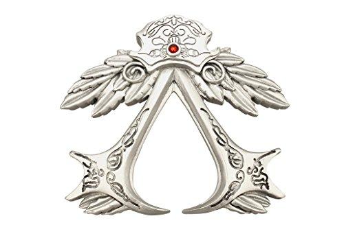 Mtxc Cosplay Assassin's Creed 2 Ezio Auditore, aus Gürtel-Clip, Silber