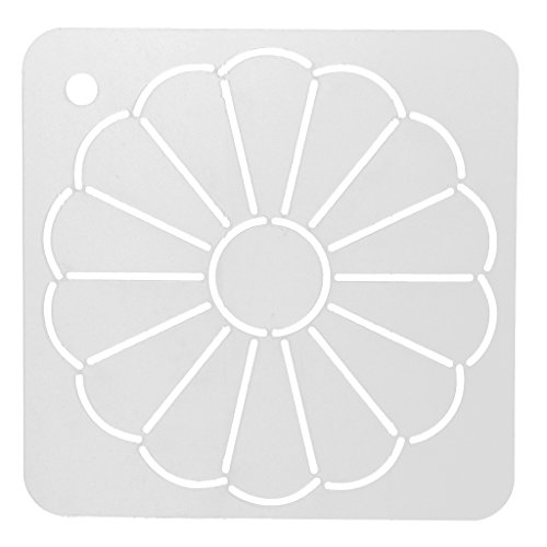 MagiDeal DIY Stencil Plastic Quilting Template Quilt Tool for Patchwork Painting 1#