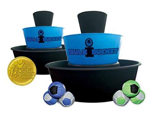 BULZiBUCKET Beach, Tailgate, Camping, Yard Game Indoor/Outdoor by Water Sports, Blue/Black (BLZIBKT)