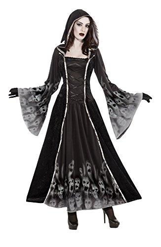 Costume Bristol Novelty pour Femme AC366, âmes oubliées, Taille 40-42