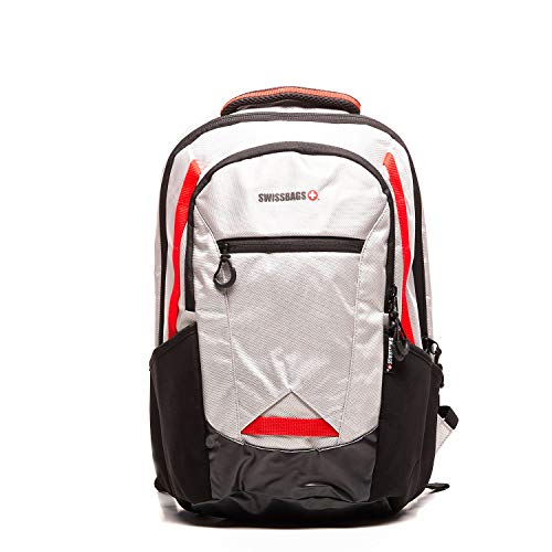 Unisex Sports Backpack for Laptop, Multi-Compartment, Reflective