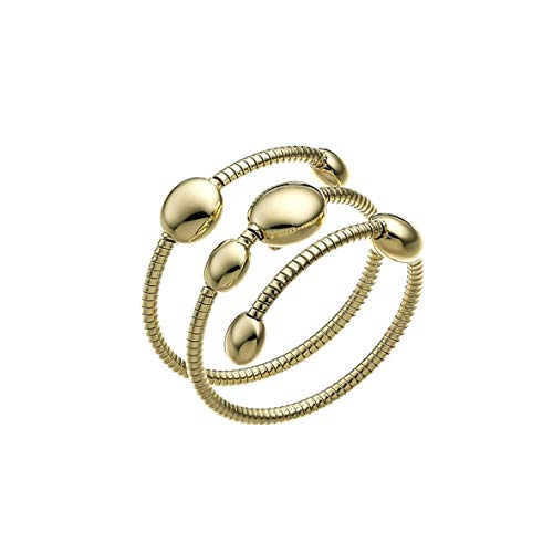 CHIMENTO Armillas Pyramis - Anillo de mujer de oro de 18 quilates - Ref. 1a01442zz1140