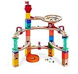 Hape International- Juegos de Canicas Fuga del Castillo, Multicolor (E6019)