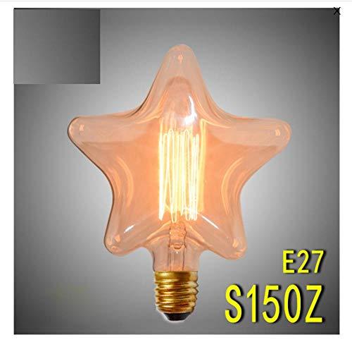 Edison gloeilamp Edison gloeilamp 40 W Retro Vintage E27 gloeilamp Edison lampen hart ster oven binnen Edison lampen 110 V 220 V lamp