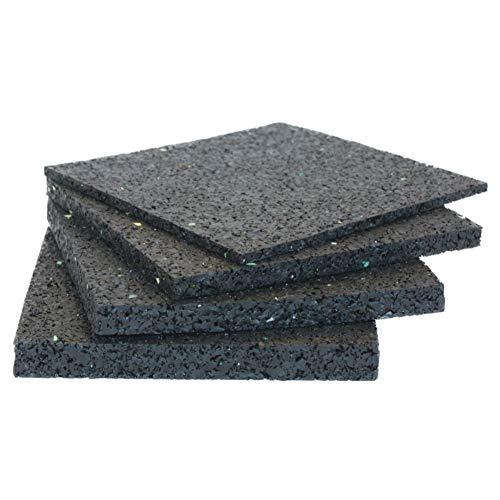 Haus & Dach terraPads Terrassenpads 90 mm x 90 mm x 10 mm, 100 Stück