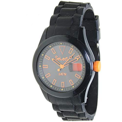Select Rt-10-2 Reloj Analogico para Niño Caja De Plastico Esfera Color Negro