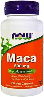 Now Foods, Maca, 500 mg, For Men & Women, 100 Veg Capsules