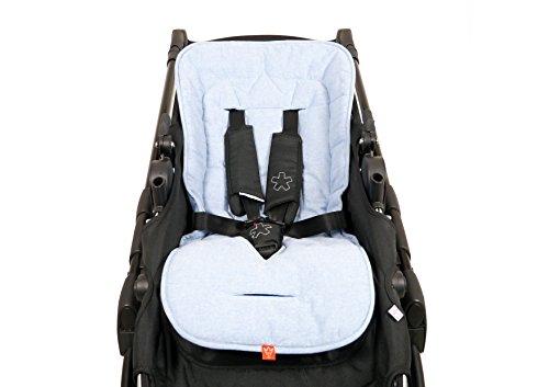 Kaiser 6537829 Sommer Komfortauflage, Kinderwagenauflage Kinderwageneinlage Sitzauflage