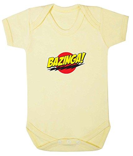 Badass Babies Bazinga Strampler Gr. 6-12 Monate, pale pink