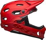 BELL Super DH MIPS Adult Mountain Bike Helmet - Matte/Gloss Crimson/Black (2019), Large (58-62 cm)