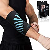 Physix Gear Elbow Brace Compression Sleeve - Neoprene Arm Support For...