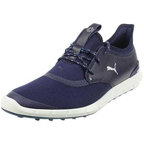 Puma Ignite Golf Spikeless Sport Herren Golfschuhe Golf blau 189416 03, Schuhgröße:44.5 EU