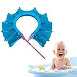 Baby Shower Cap, Gimilife Baby Shower Head Protector Safe Bathing Shampoo Shower Protection Hat Bathroom Safety Cap, Silicone Adjustable Bath Visor Hat for Baby,Toddler, Children, Kids