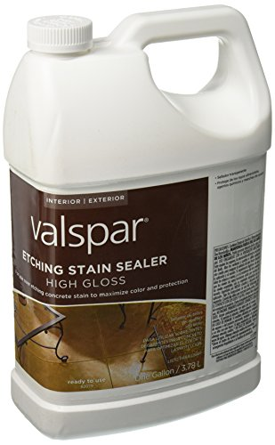 Valspar 82079 Etching Concrete Stain Sealer, Clear