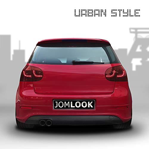 JOM 82929 Urban Style LED Rückleuchten dunkelrot