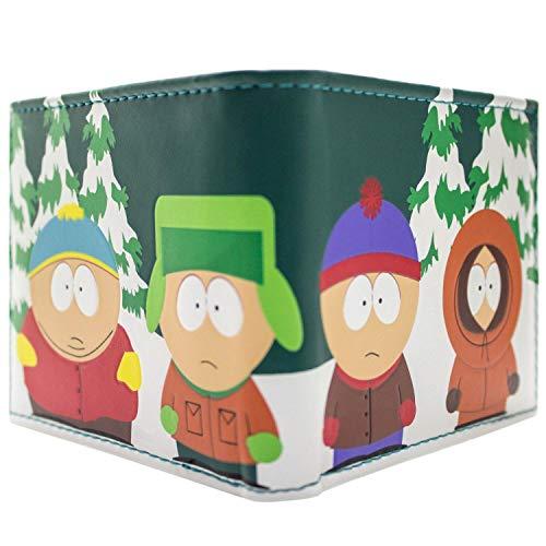 TV South Park Kyle Kenny Stan Eric Vert Portefeuille