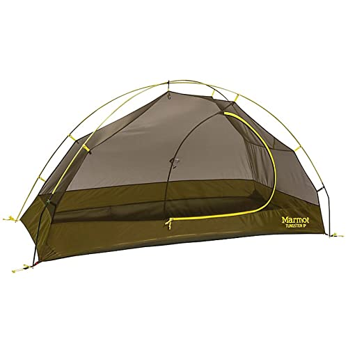 Marmot Tungsten 1P Backpacking Tent-1 Person-Green Shadow