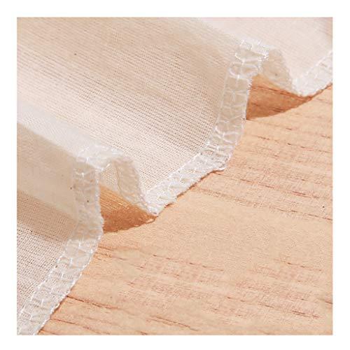 Baumwollgaze Filtertuch Musselin Küchendampfer Tuch Haushalt Weißes Gaze Käsetuch, 100x150cm