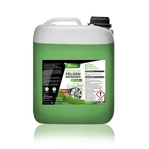Terma Speed Clean Felgenreiniger, pH-neutrale f. Alufelgen Chromfelgen Stahlfelgen (30 Liter)
