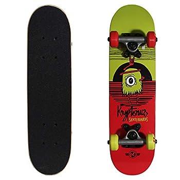Kryptonics Locker Board 22 Inch Complete Skateboard - Big-Eye