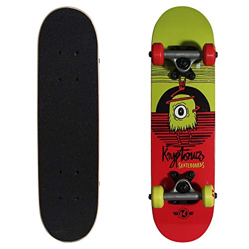 Kryptonics Locker Board 22 Inch Complete Skateboard - Big-Eye