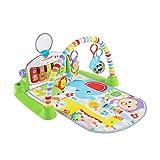 フィッシャープライス(fisher price) あんよでキック!4WAYバイリンガル・ピアノジム 【0か月~ 赤ちゃん 幼児 子ども 幼児 ベビー ジム プレイジム プレイマット メリー】 FWT10