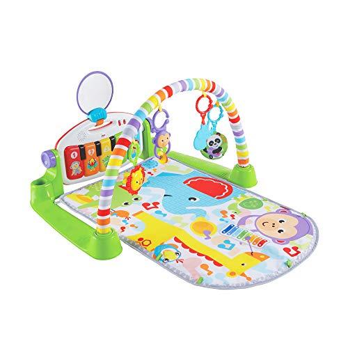 マテル フィッシャープライス(fisher price) あんよでキック! 4WAYバイリンガル・ピアノジム 【0か月~ 赤ちゃん 幼児 子ども 幼児 ベビー ジム プレイジム プレイマット メリー】 FWT10