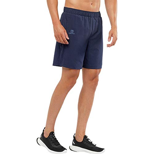 Salomon Agile 2In1 Short M Hiking Shorts, Night sky, S Mens